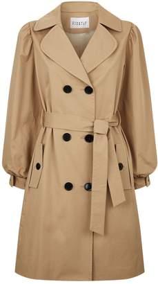 Claudie Pierlot Bow Cuff Trench Coat