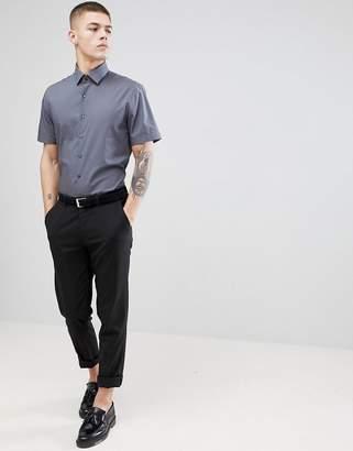 Calvin Klein Skinny Smart Short Sleeve Shirt