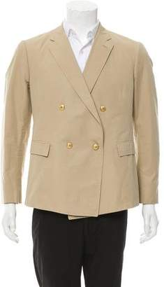 Band Of Outsiders Woven Double-Breasted Blazer