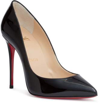Christian Louboutin Pigalle Follies 100 patent black pump
