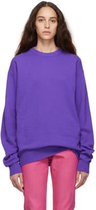 Calvin Klein Jeans Est. 1978 Purple Wool Sweater