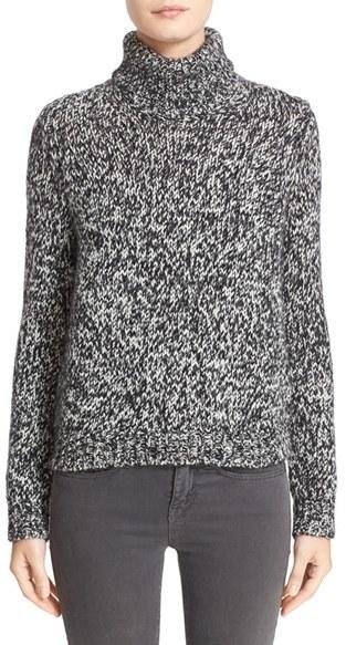 MonclerWomen's Moncler Bicolor Turtleneck Sweater
