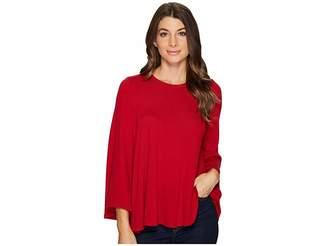 Karen Kane Bell Sleeve Swing Sweter Women's Sweater