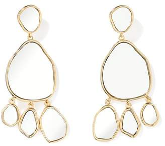 Aurelie Bidermann Ciottolo Mirror Earrings