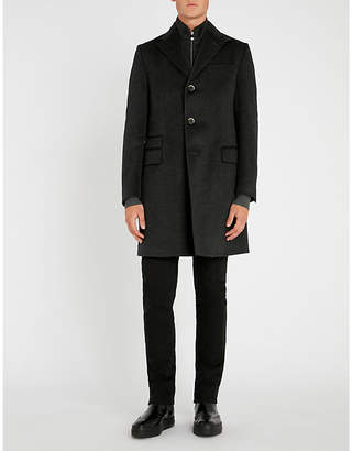Corneliani Identity wool overcoat