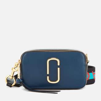 Marc Jacobs Women's Snapshot Cross Body Bag - Blue Sea Multi