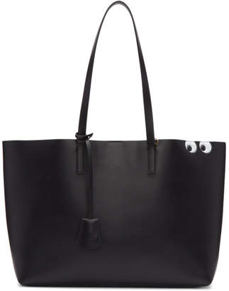 Anya Hindmarch Black Ebury Shopper Tote