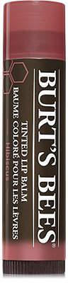 Burt's Bees Tinted Lip Balm $5 thestylecure.com