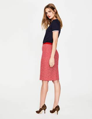 Boden Textured Modern Pencil Skirt