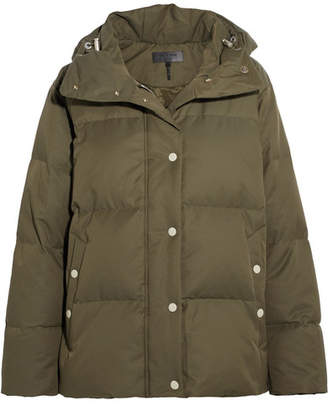 rag & bone - Leonard Lace-up Hooded Quilted Shell Down Jacket - Green