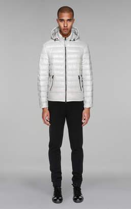 Mackage GORAN Lightweight lustrous down jacket with hood