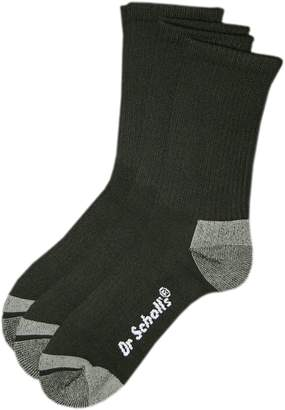 Dr. Scholl's Dr. Scholls Men's 3-pk. Blister Guard Crew Socks