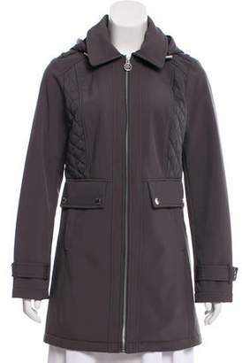 MICHAEL Michael Kors Hooded Short Coat