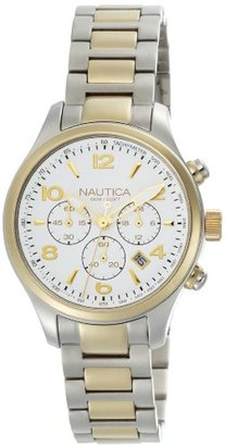 Nautica (ノーティカ) - ノーティカWomen 's n20060 m BFD 101 Silver Dial Watch