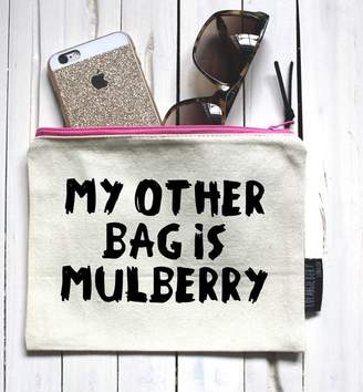 Mulberry Lola & Gilbert London Ltd. 'My Other Bag Is Mulberry' Pouch