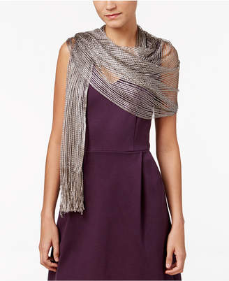 INC International Concepts I.n.c. Lurex Metallic Net Evening Wrap, Created for Macy's