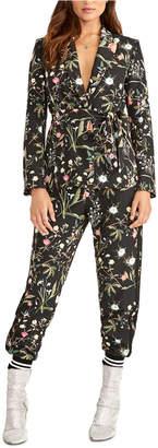 Rachel Roy Carin Floral-Print Jogger Pants