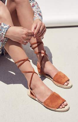 Kirra Lace-Up Espadrille Sandals