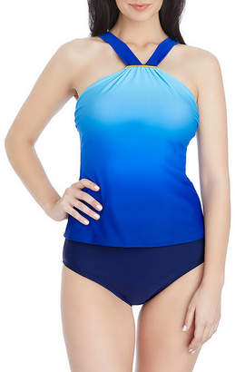 ST. JOHN'S BAY Ombre Tankini Swimsuit Top