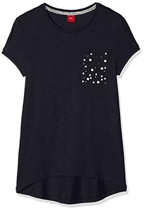 S'Oliver Girl's 66.807.32.5329 T-Shirt,(Manufacturer Size: Large)