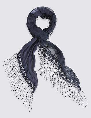 Marks and Spencer Butterfly Lace Scarf