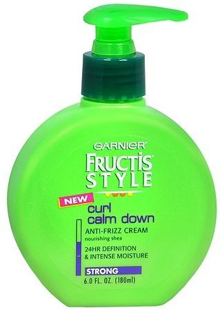 Garnier Fructis Style Curl Calm Down Anti-Frizz Cream