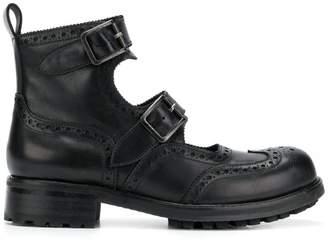 Kokon To Zai double straps boots