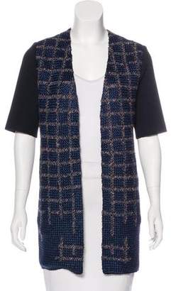 Maiyet Tweed Longline Jacket
