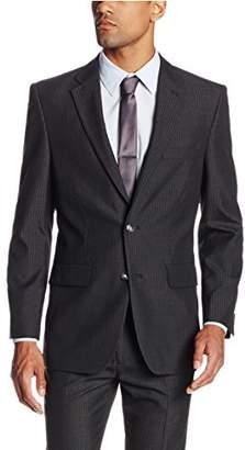 Haggar Men's Pinstripe Tailored Coat