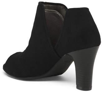 Peep Toe Comfort Heels
