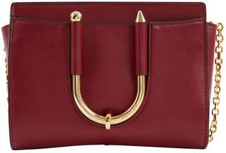 Thierry Mugler Burgundy Leather Handbags