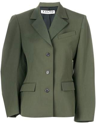 Aalto fitted single-breasted jacket