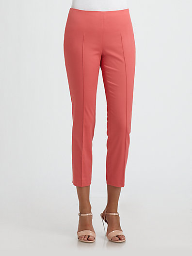 Saks Fifth Avenue Collection Skinny Ankle Pants