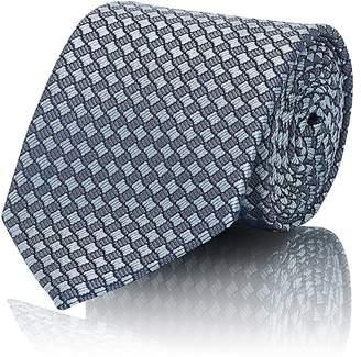 Giorgio Armani Men's Geometric-Print Silk Necktie