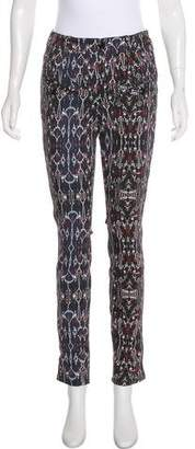Isabel Marant Mid-Rise Skinny Jeans