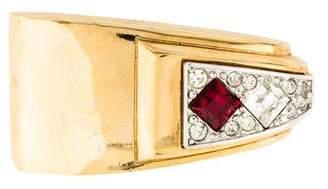 Givenchy Crystal Brooch Pin