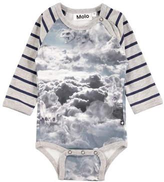 Molo Floyd Cloud Figures Printed Bodysuit, Size 3-12 Months