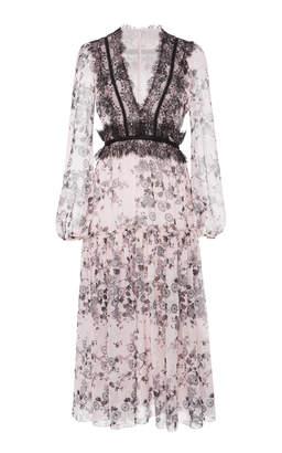 Giambattista Valli Floral Printed Midi Dress