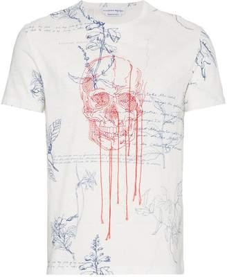 Alexander McQueen Explorer printed t shirt