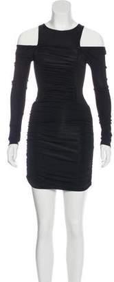 Pierre Balmain Ruched Mini Dress