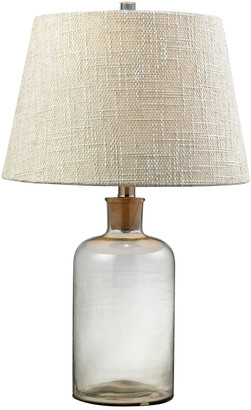 clear Elk Lighting 26In Glass Bottle Table Lamp