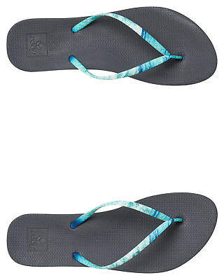 Reef New Women's Womens Escape Lux Nature Thong Rubber Blue