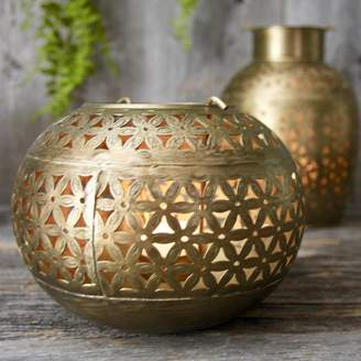 London Garden Trading Brass Bowl Tealight Holder