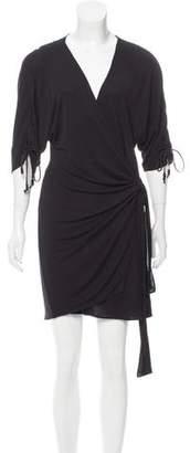 Hanley Mellon Short Sleeve Wrap Dress