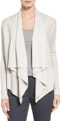 Women's Nordstrom Collection Cashmere Drape Front Cardigan $279 thestylecure.com