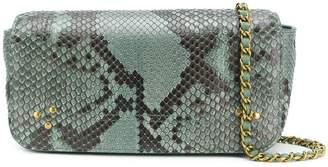 Jerome Dreyfuss leopard print shoulder bag
