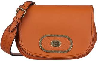 Bottega Veneta Leather Luna Cross Body Satchel Bag