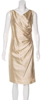 Max Mara Silk-Blend Dress w/ Tags