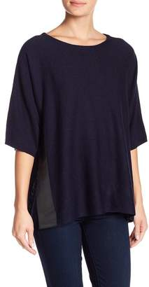 14th & Union Side Slit Popover Sweater
