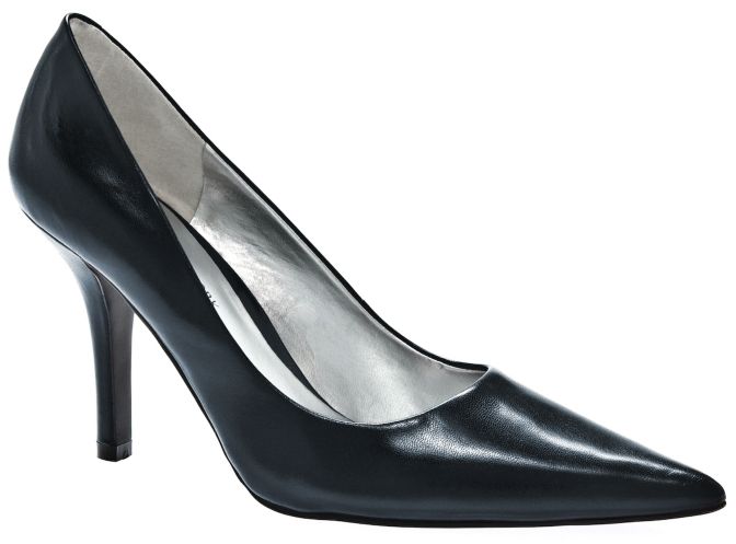 JONES NEW YORK Schylar Leather Pump - Navy